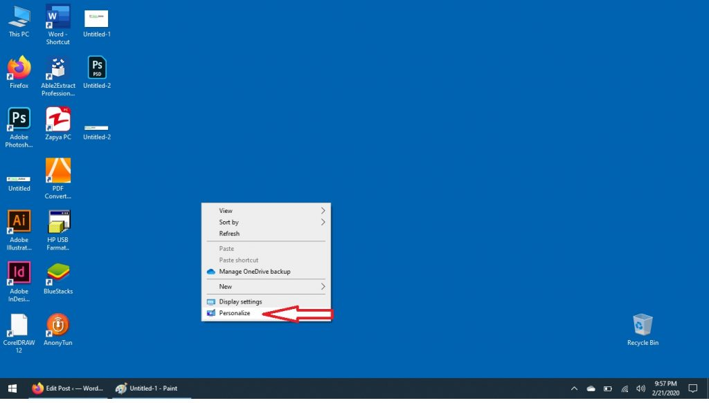 "How to Get ""This PC"" Icon on your Desktop in Windows 10"