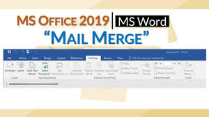 How To Create a Mail Merge In Microsoft Word