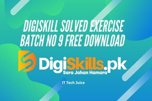 Digiskill Solved Exercise Batch No 9 Free Download