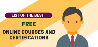 Top 500 Free Online Course with Certificate in 2021