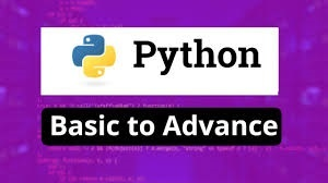 Python Programming From Basics To Advance and GUI in Python
