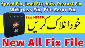 Jazz Device MF927U Version Unlock File And Driver Free Download